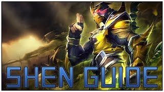 LoL How to Play Shen - A League of Legends Beginners Shen Guide