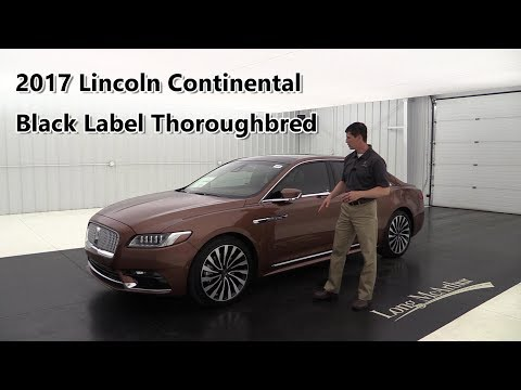 2017 Lincoln Continental Black Label Thoroughbred Chroma Elite Copper Rear Seat Package - $80,000