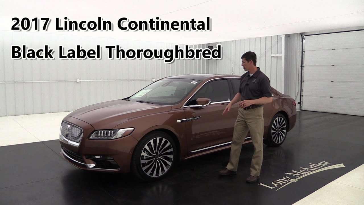 2017 lincoln continental black label thoroughbred chroma elite copper rear seat package. Black Bedroom Furniture Sets. Home Design Ideas