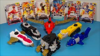 2013 SABAN'S POWER RANGERS MEGAFORCE SET OF 6 McDONALD'S HAPPY MEAL TOY'S VIDEO REVIEW