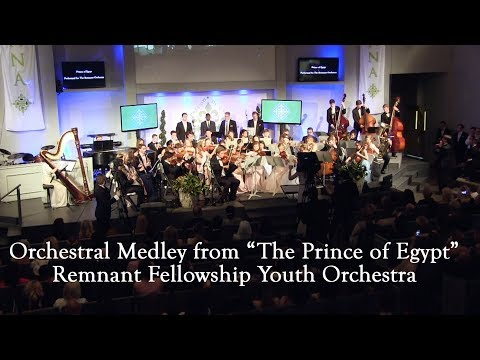 """Orchestral Medley from """"The Prince of Egypt"""" 
