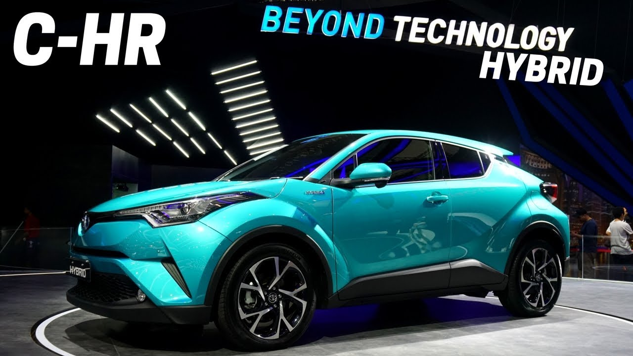 New 2018 Toyota C Hr First Impressions Design Chr Hybrid