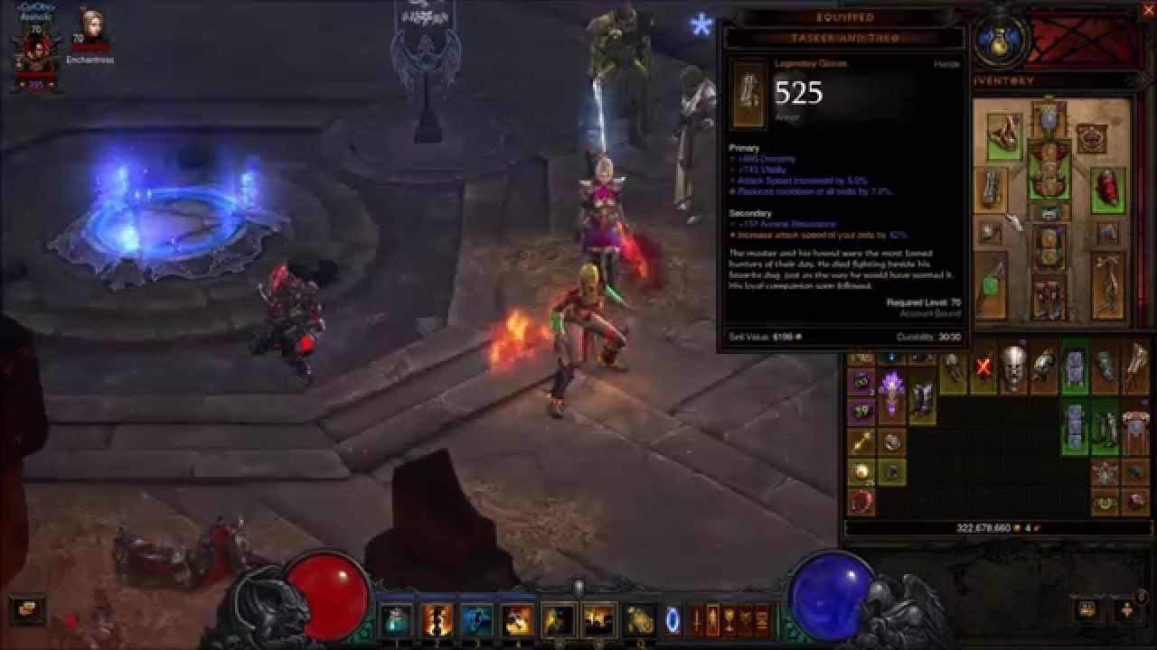 Diablo  Witch Doctor Farming Build