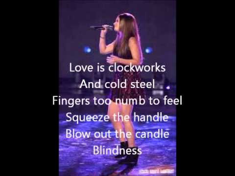 Jacquie Lee-Love is Blindness-The Voice 5 Top 12