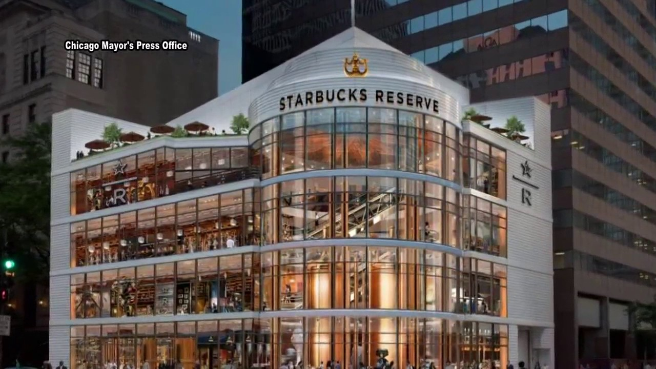 Starbucks Roastery in Chicago will be largest yet