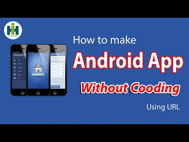 How to create an app for free without coding in just 5 minutes.