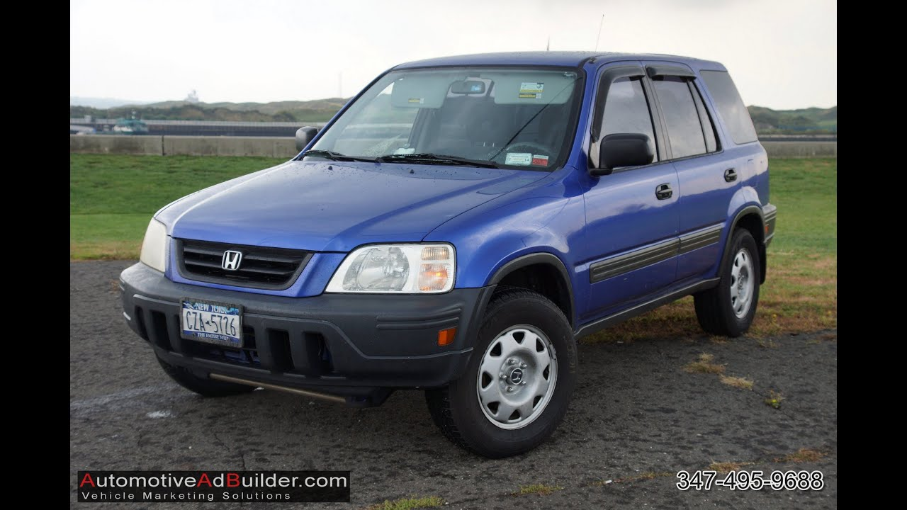 2001 Honda CRV LX Real Time 4WD  YouTube