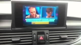 dvb t television on audi a6 4g rmc mmi