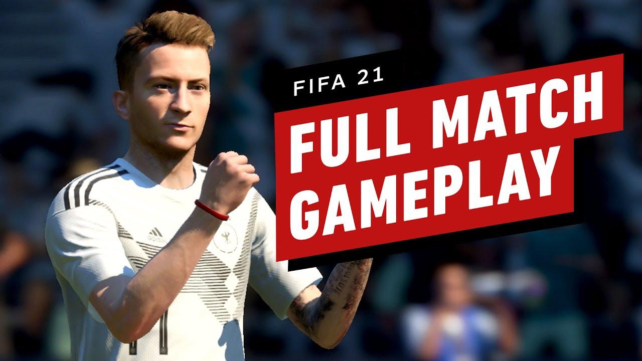 FIFA 21: Full Match Gameplay