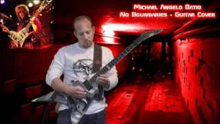 Download Video Michael Angelo Batio - No Boundaries - Guitar Cover MP3 3GP MP4
