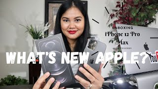 UNBOXING MY NEW iPHONE 12 PRO MAX GRAPHITE | Pros and Cons