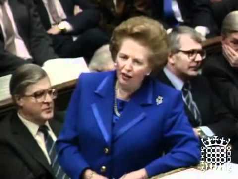 Margaret Thatcher Owns Socialist - proves capitalism is better