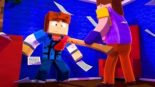 Minecraft HELLO NEIGHBOR - HIDDEN BASEMENT !? (Minecraft Roleplay)