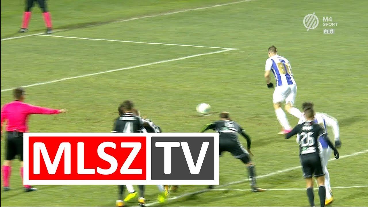 Novothny Soma Zsombor gólja az Újpest FC - Balmaz Kamilla Gyógyfürdő mérkőzésen