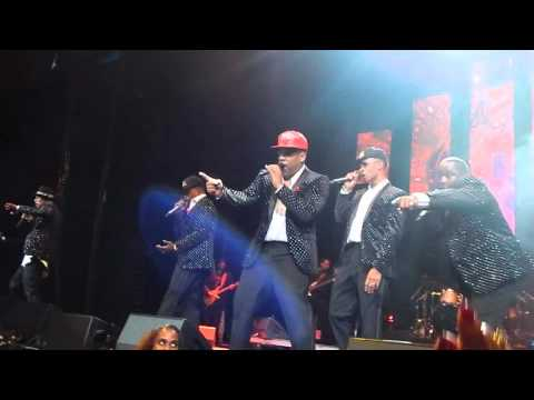 """New Edition, BBD and Johnny Gill concert """"Poison"""""""
