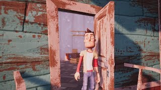 HELLO NEIGHBOR ALL Endings +Secret Endings & Final Boss