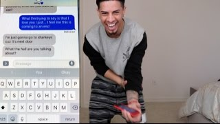 LYRIC PRANK ON GIRLFRIEND GONE WRONG!!!