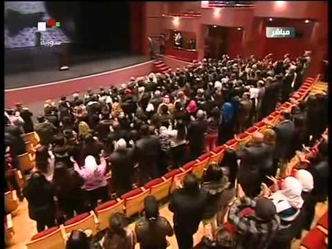 Syria welcoming president bashar al assad in the damascus for The damascus house