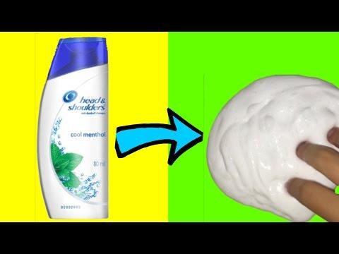 how to make slime with shampoo and salt