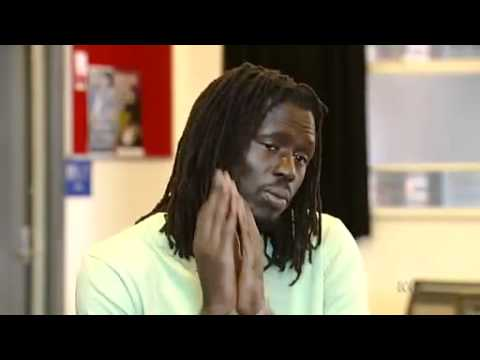 Sudanese hip-hop star inspires refugees