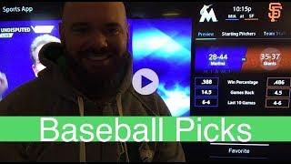 Baseball Picks | June 18, 2018 (Tue.) | Sports Betting | MLB Totals | Marlins vs Giants