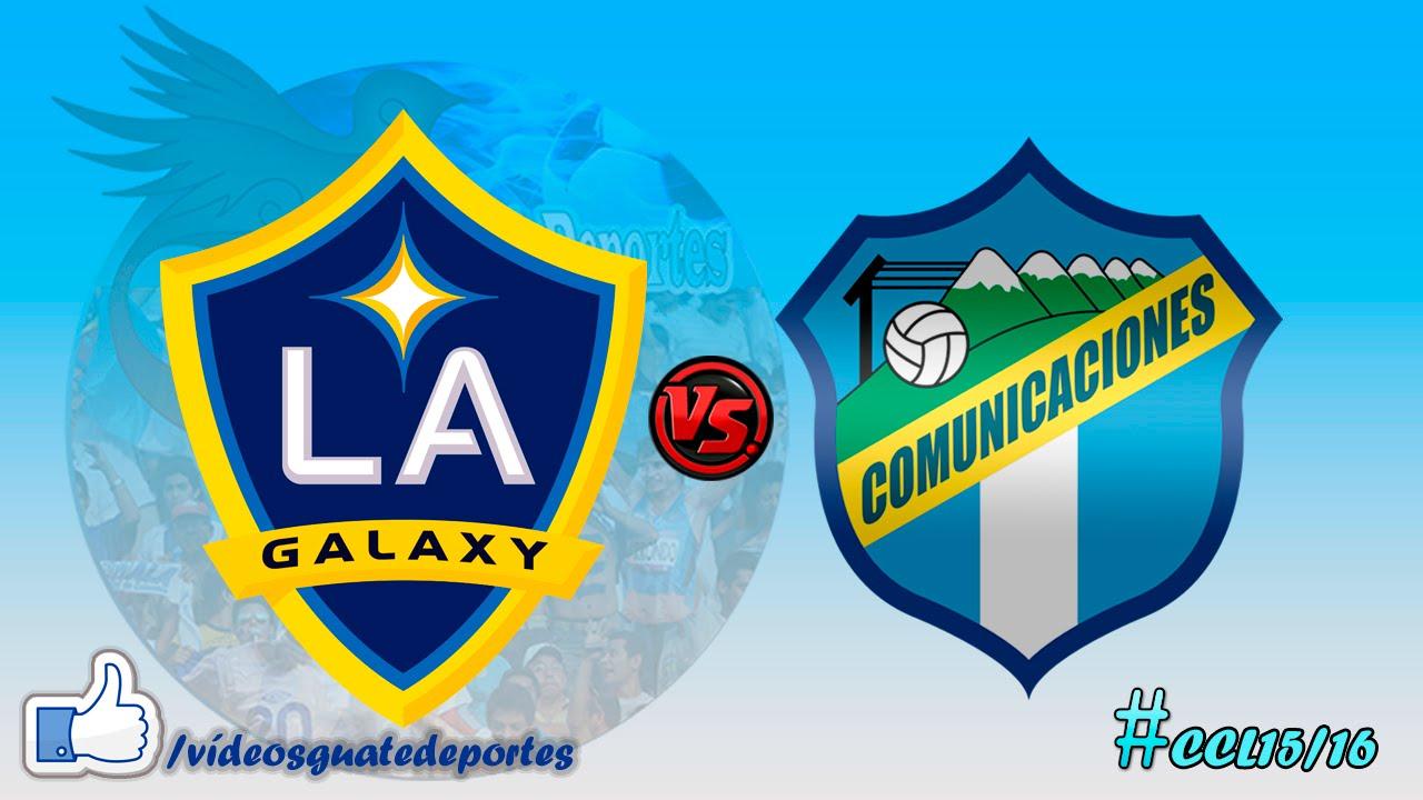 LA Galaxy 5-0 C.S.D. Comunicaciones