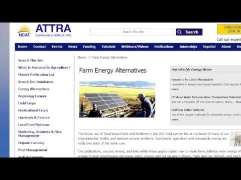 Farm Energy Alternatives