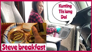 Cooking Farm Boy Breakfast Using Aroma Professional Rice Cooker | Naglinis si Inday ng Truck