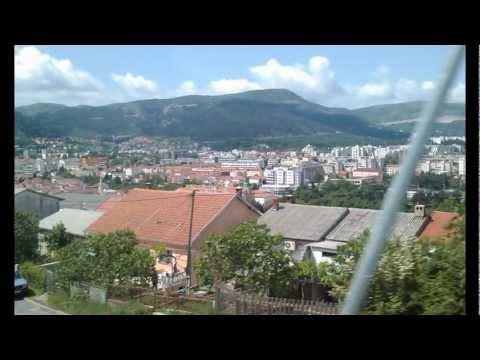 Босна и Херцеговина, крайбрежие и Мостар в снимки