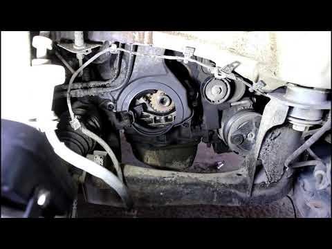Замена комплета приводного механизма ГРМ на Range Rover Evoque 2,2 Ленд Ровер Эвок 2011 года 2часть