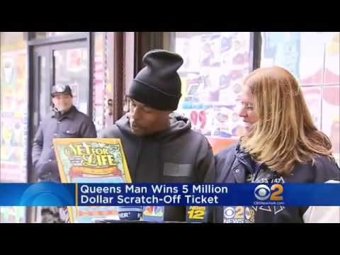 Queens Man Wins $5 Million Dollar Jackpot On His 28th Birthday!