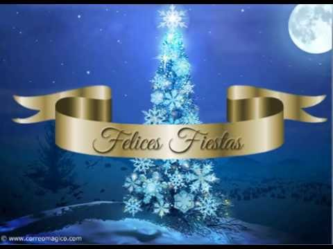 felices fiestas bella tarjeta navideña para compartir gratis youtube