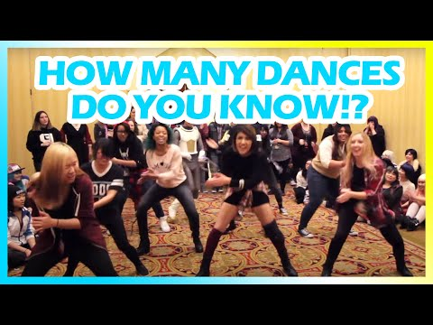 how-many-kpop-dances-do-you-know-challenge?---[taiyou-con-2016]