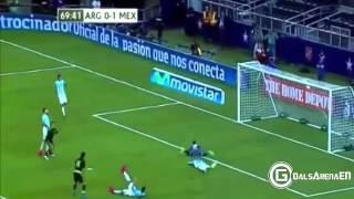 vuclip اهداف مباراة الارجنتين 2-2 المكسيك تعليق نوفل باشي