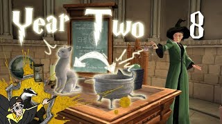 Hogwarts Mystery, part 8 -- Year Two
