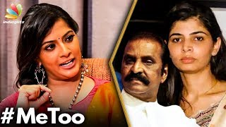 Don't Question Chinmayi : Varalaxmi Bold Statement | Interview | Vairamuthu, MeToo India
