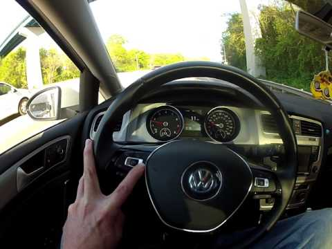VW Volkswagen adaptive cruise control traffic jam assist demo owner review