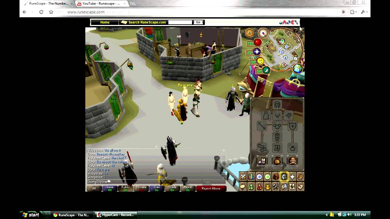 RuneScape - The Naked Mile - YouTube