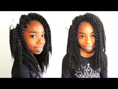 Havana Jumbo Twist Kids Hairstyles Youtube