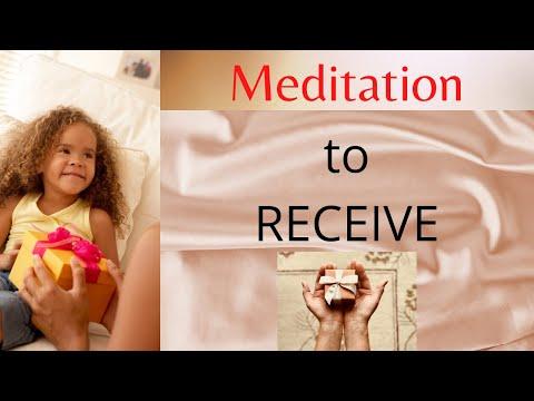 Meditation to Receive 🎁