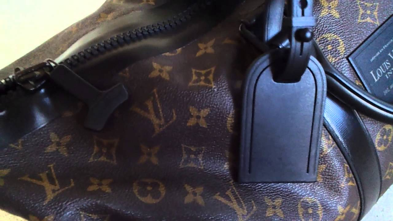 46d63a8cc0 Louis Vuitton WATERPROOF KEEPALL 55! WOW the ultimate COOL bag ...