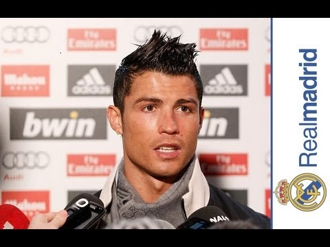 Real Madrid 4-0 Celta: Ronaldo speaking to the media
