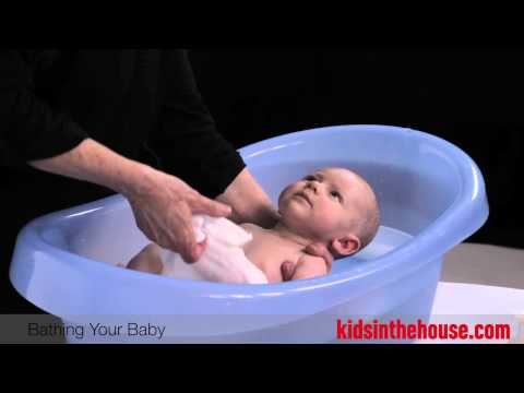 How To Bathe A Baby - Corky Harvey, RN, IBCLC