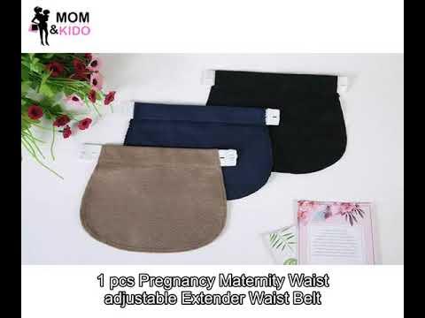 1 Pcs Pregnancy Maternity Waist Adjustable Extender Waist Belt