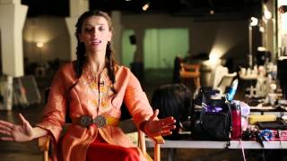 Behind-the-scenes: Angela Sarafyan on Making History - 1915 The Movie (2015)