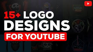 Free 15+ Logo designs for YouTube and Social Medias