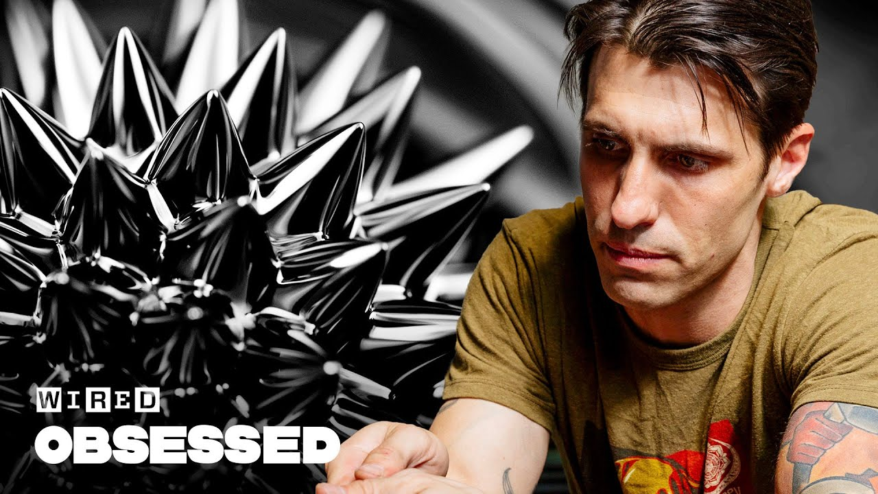 How This Artist Makes Mesmerizing Magnetic Fluid Sculptures | Obsessed | WIRED