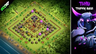 TH10 Best Trophy Base | CoC Th10 Base 2018 |  - Clash Of Clans