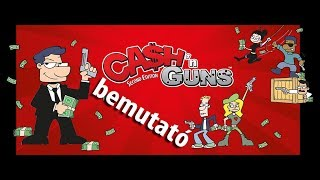 Cash n Guns - társasjáték bemutató