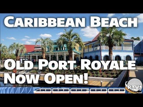 Disney's Caribbean Beach Resort - New Old Port Royale Tour & Construction Update (October 2018)